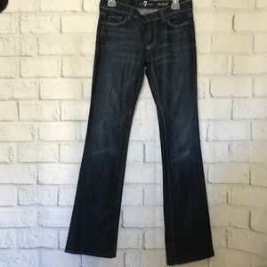 7 For All Mankind Women's  Bootcut Jeans Tall Long